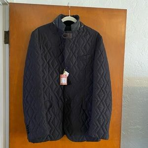 NWT Etro Quilted Notch Lapel Jacket Mens $5210